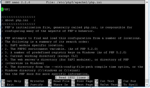 SSH – WHM – cPanel – php.ini bulma ve düzenleme