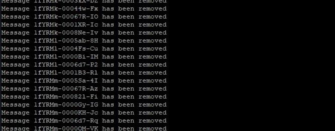 ssh – cPanel – whm – linux mail queue (kuyruğu) silme – kontrol etme