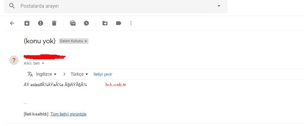 PHP Mail SMTP Mailer Türkçe Karakter Sorunu ve Çözümü