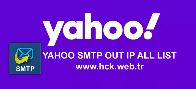 Yahoo Mail Out SMTP Ip All List 2020 (Proxmox Mail Gateway)
